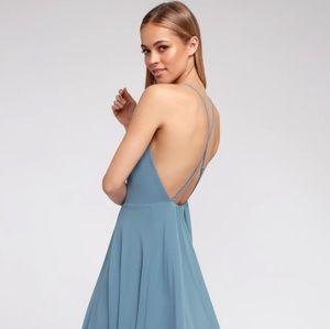 Lulus Blue Maxi Dress
